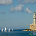 Chania Lighthouse and SailBoats - Crete