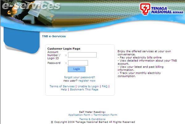 TNB e-Services