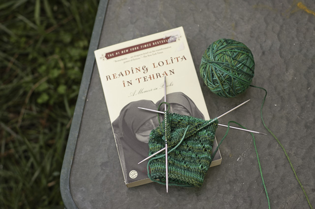 Knitting and Reading blog