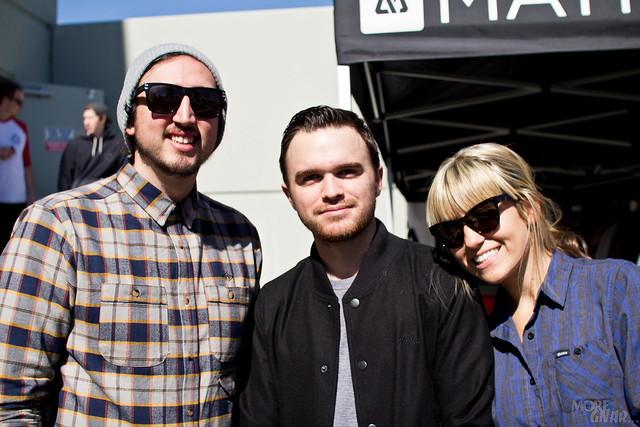 Shaun, Brett, & Tara