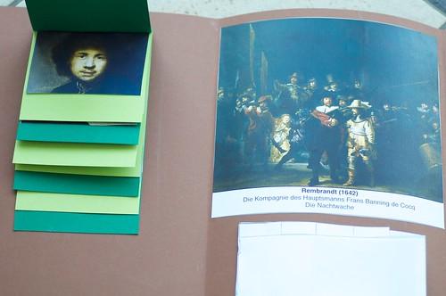 Rembrandt Lapbook 2