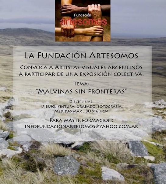 Convocatoria 'Malvinas sin fronteras' / Muestra itinerante multidisciplinaria // Fundación Artesomos