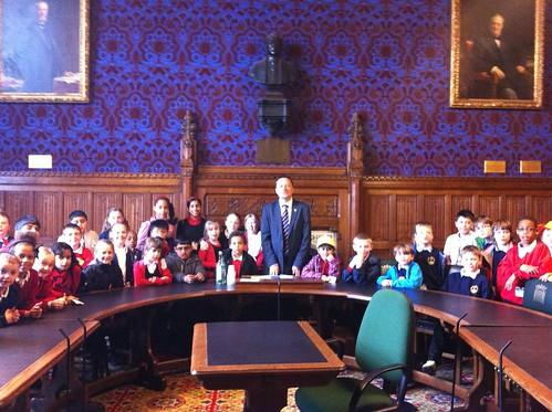 St John's Golcar, J&I School in Parliament
