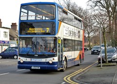 Stagecoach In Fife  Dunfermline Via Dalgety Bay 7  Alexander Dennis Trident  Queensferry Road  Rosyth...