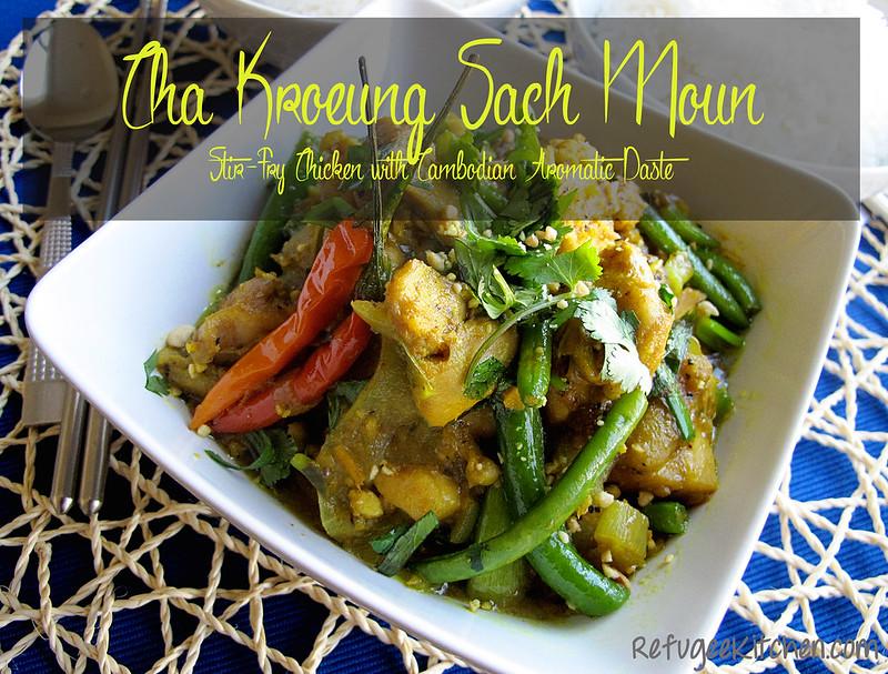 Cha Kroeung Sach Moun