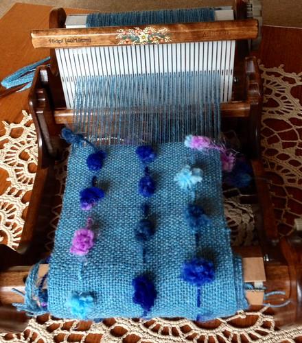 Perked up plain weave
