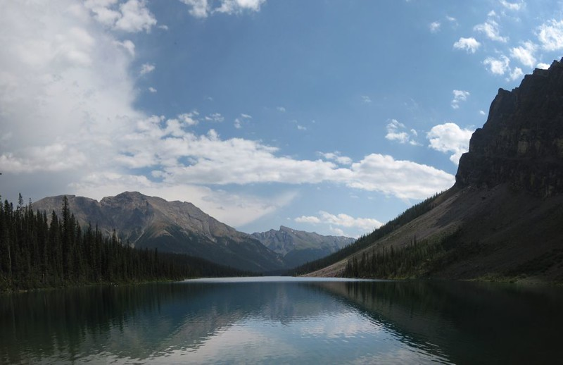 Panorama shot from the west end of Luellen Lake