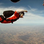 Alex Henson Skydives