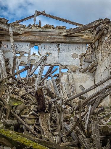 Ruinas del Monasterio Cisterciense de San Salvador (año 1218. Pinilla de Jadraque, Guadalajara)