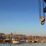 Preston boat crane