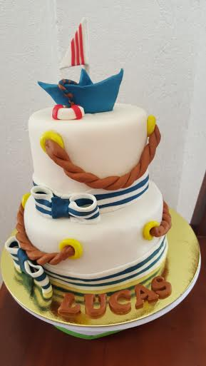 Naval Themed Cake by CheAnne Poblete-Cortez of Jacelicious bakeshop