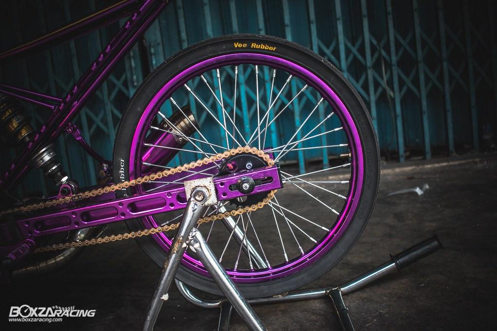 Wave Drag độ màu tím khủng khiếp với Piston 78mm (Thái) - 3