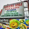 Demi si cinta makan Padang jauh bener