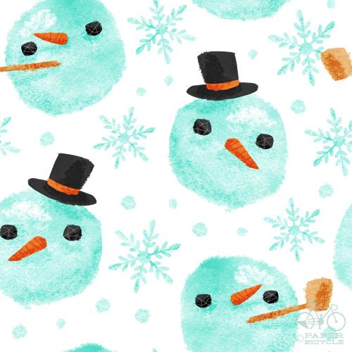 chrishajny_snowman_pattern