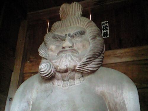真福寺の木喰仁王