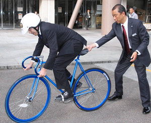 Japanese businessmen love fixed.