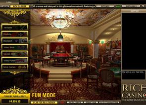 Rich Casino Lobby