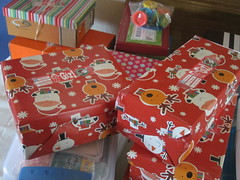 Girls' Boxes Ready to be Packed