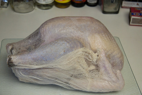 Turkey #1 Wrapped in Cheesecloth