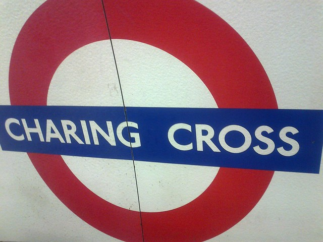 Charing Cross Underground Station - Northern line - sign