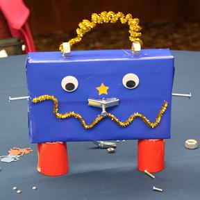 Robot Centerpiece #1