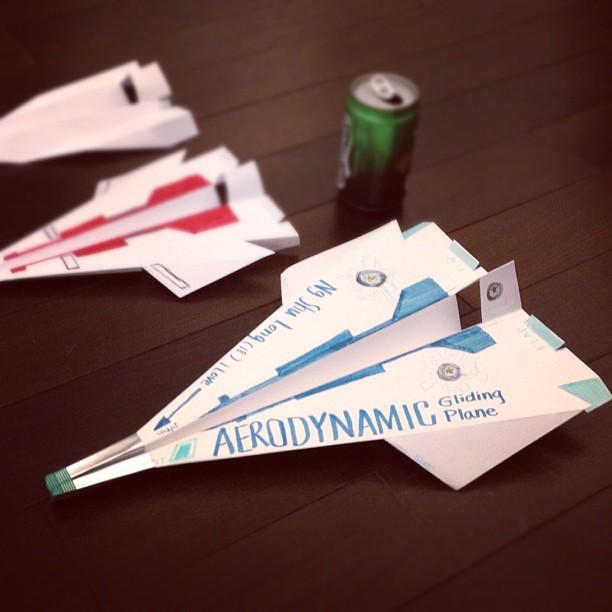 derek blog  paper airplane aerodynamics