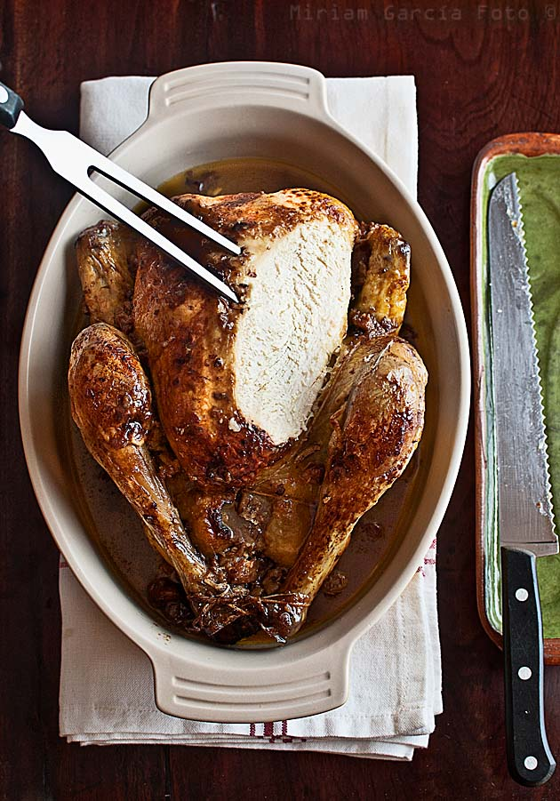 Pollo relleno