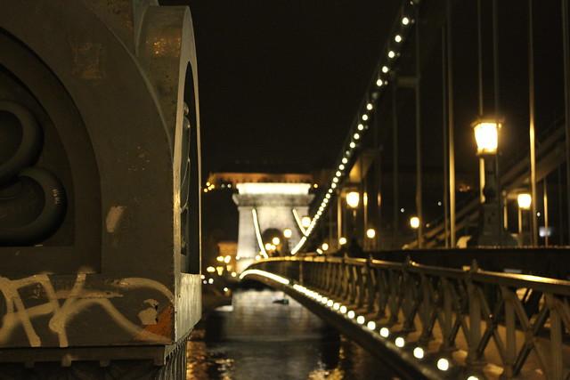 Lánchíd, puente de las cadenas de Budapest.