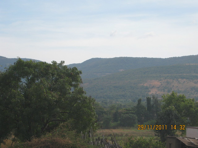 View of Katraj to Sinhagad Hills from the site of Urbangram Kirkatwadi, A 2 BHK Flat for Rs. 25 Lakhs on Sinhagad Road, Pune