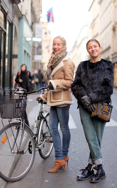 Géraldine & Irina (Rue Bonaparte)