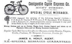 Australian Bicycle History: Bicycle Messengers