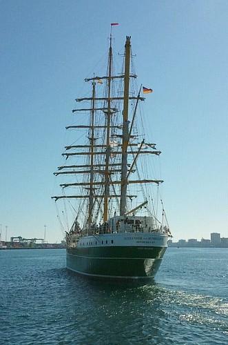 Foto del velero Alexander von Humboldt en el puerto de Las Palmas de Gran Canaria Islas Canarias by El coleccionista de instantes