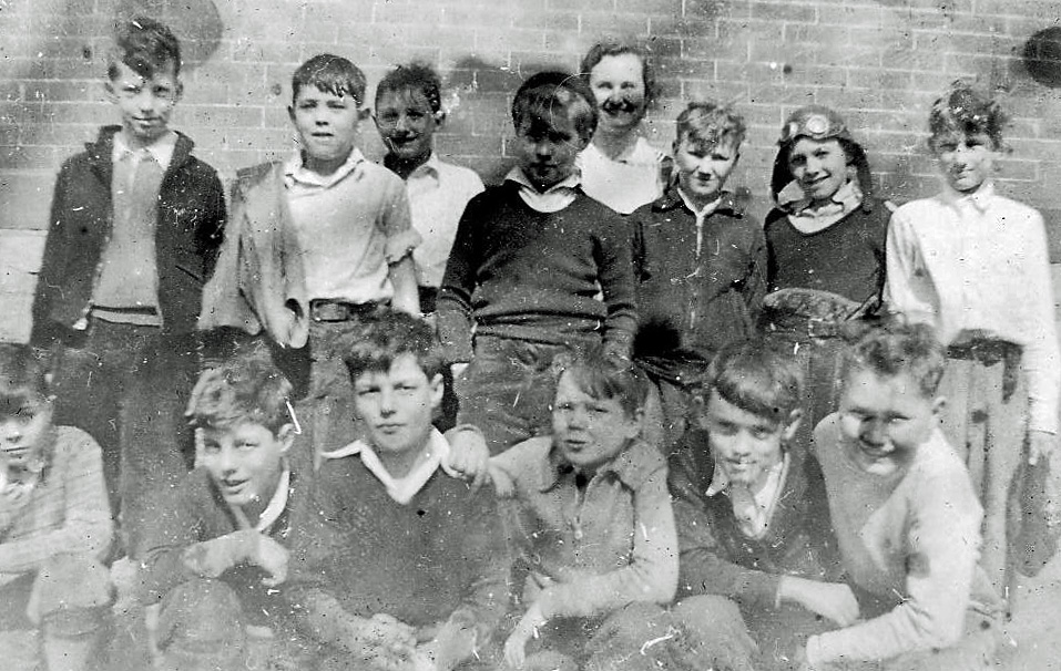 Boys in my 5th grade class: 1935