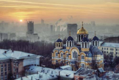 sunset panorama kiev panoramafotográfico церквикиевзакатchurch