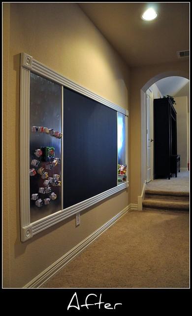 chalkboard after