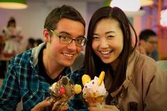 Jordi & Hyekyong @ maid Cafe