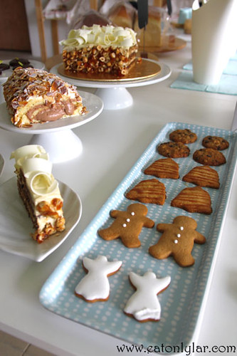 Variety of cookies, Butter Tree