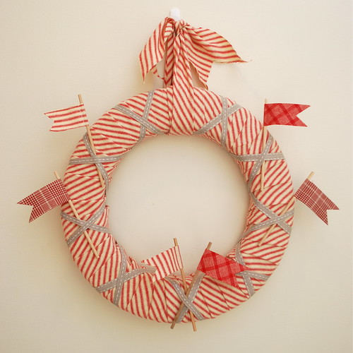 Flannel and Flag wreath