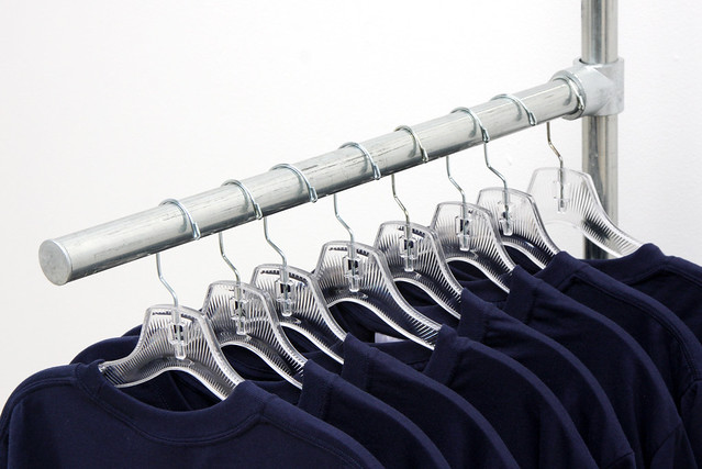 Display Clothing Rack Straight Arm