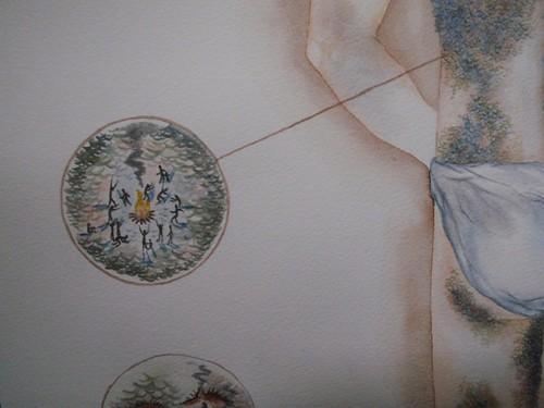 "Christina Corfield ""Dragonhyde"" (detail1)"