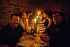 Matt Raible and Crew at Devoxx dinner