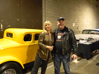 candy clark and bill edgar at timonium car show ,