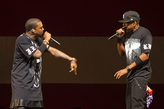 Jay-Z and Kanye West at New Orleans Arena