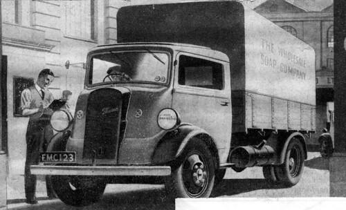 Ford Thames 7V covered wagon