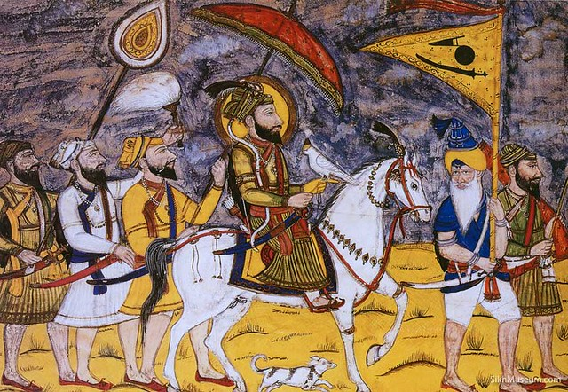Journey to Deccan- A painting of Guru Gobind Singh Ji