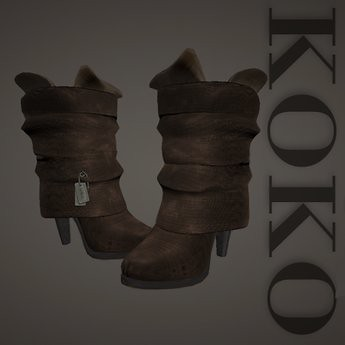 Urban wrap boots - Koko, 5 lindens by Cherokeeh Asteria