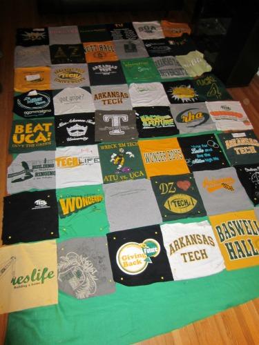 Faith In Fear Diy T Shirt Quilt Part 1