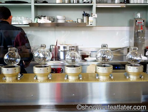 Blue Bottle Coffee, $20,000 siphon bar