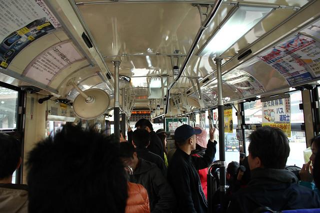 川乗橋行きバス