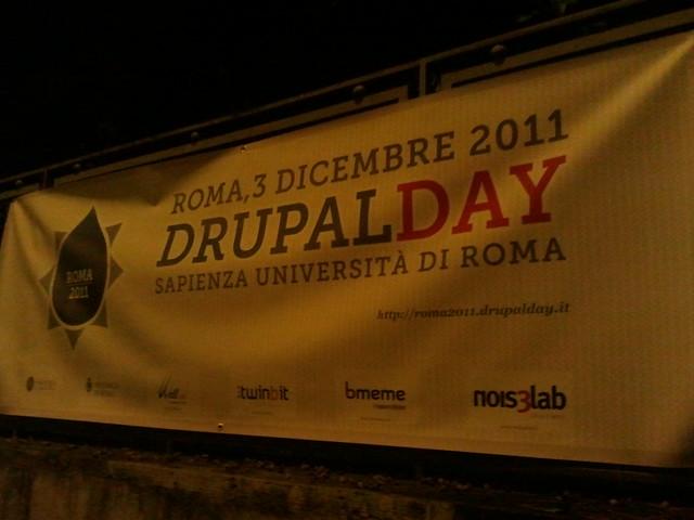 Drupal Day Roma 2011